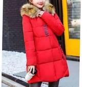 Стильная женская курточка / пальто  в трёх размерах ( осень /зима )