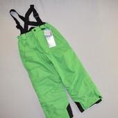 ✿Детские лыжные термо-штаны, полукомбинезон, от Crane, Германия, 122/128. Смотрите замеры