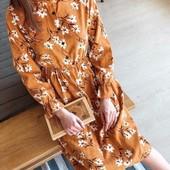 Винтажное вельветовое платье