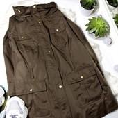легкая куртка хаки