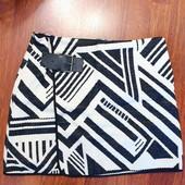 Новая юбка с подкладкой на осень тм ZARA, размер S (26), смотрите замеры.