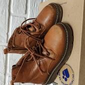 Стильні Шкіряні Ботинки zara розмір 22 устілка 14,-14.5 см