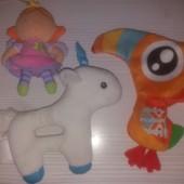 Три игрушки для малышей