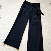 32-34р. Расклёшенные брюки в полоску с поясом Miss selfridge