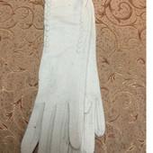 Класснючие длинные(36 см) женские перчатки, кашемир