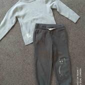 Одним лотом. Спортивные штаны и водолазка.