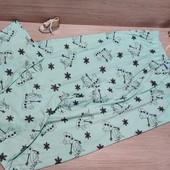 Германия!!! Коттоновые пижамные штанишки для девочки! 146/152!