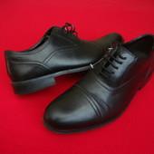 Туфли оксофорды Clarks оригинал натур кожа 41 размер
