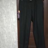 Фирменные новые мужские брюки р.38R на пот-47-48 поб-60
