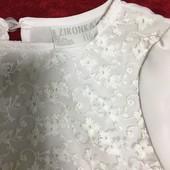 Нарядная блузка (110 - 116 см) Zironka. Новая!