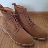 Кожаные ботинки,черевики,сапоги от  H&M