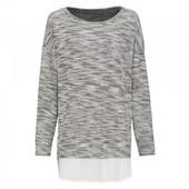 Ш35.Джемпер блуза обманка 2в1 esmara