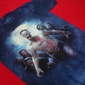 Новая футболка The Mountain Zombie размер S(синяя))