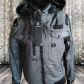 Женская теплая куртка на холодную осень g-star raw, размер 2ХL 52-54