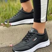 Шикарные белые кроссовки fila
