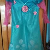 Платье Тролли Розочка,3-5 лет