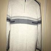 Шерстяной тёплый свитер, размер L