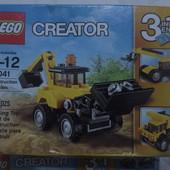 Lego creator Строительная техника оригинал