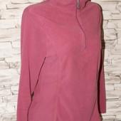 мягкая, стильная и теплая флисовая кофта , цвет нежно розовый.