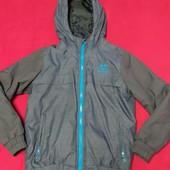 Куртка парка hummel/ как рейма на холодную осень-теплую зиму, еврозима. 8 лет( 128 см)