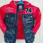 Крутая лёгкая куртка-ветровка - на 4 года, смотрим замеры