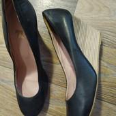 Кожаные туфли Manfield
