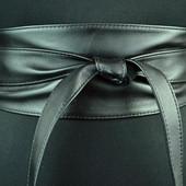 Очень классные дорогие пояса. Кушак черный и серебристый