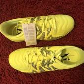 Футзалки Adidas,оригінал,із натуральної шкіри,розмір 38 2/3,стел