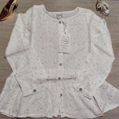 Лёгкая, вискозная блуза для девочки! 128 рост! 549 грн по ценнику!