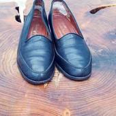 кожанные туфли 36 р