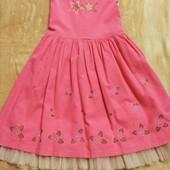 Нарядное платье на праздник, 4-7 лет