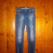 Рвані стильні джинси Онлі 28 р