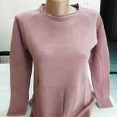 Мягуууусенький свитерок Цвет Пыльная Роза!)) Размер S