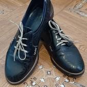 Шикарные кожаные туфли Leader Style с оригинальным дизайном