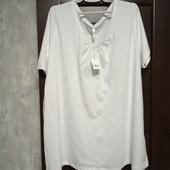 Фирменная новая коттоновая блуза-футболка р.22-26
