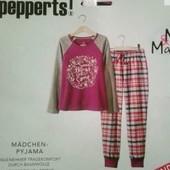 Отличная пижама на девочку Pepperts Германия размер 122/128