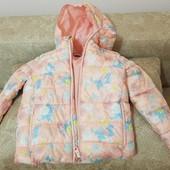 Куртка для дівчинки на 3-4 рочки