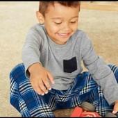 lupilu.хлопковая пижама с фланелевыми штанами 110/116
