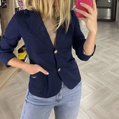 !!! Очень красивый пиджак темно-синий!!! Смотрим замеры!! Собираем лоты!!