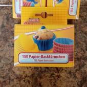 Бумажные формы 150 шт. для кексов, пирожен, конфет