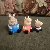 Свинка Пеппа игрушки резиновые