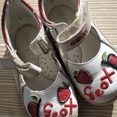 Туфли geox кожа стелька 14.5 см