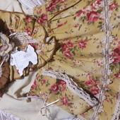 Платье и сарафан накидочный 2 в 1 6а 98 примерно