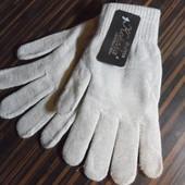 Теплые базовые перчатки с начесом, в составе шерсть, цвета в описании