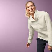 XL/46-48ев/54укр. Двухсторонняя плюшевая куртка с реверсивным микрофлисом Tchibo.