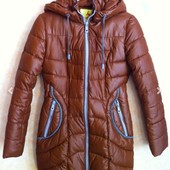 Классная зимняя куртка-пуховик! Фирменный Hold Luck, размер М.