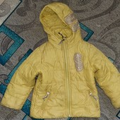 Куртка девочке на 3-5 лет