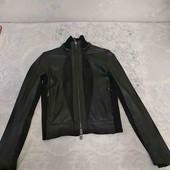 Кожаная куртка Emporio Armani курточка эмпорио армани