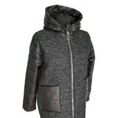 куртка -пальто батал 54 56 58 60