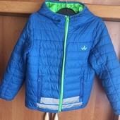 Куртка. деми, размер 8 лет 128 см, Wanabee.
